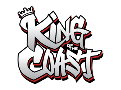The King of the Coast Tournament 2018 Logo