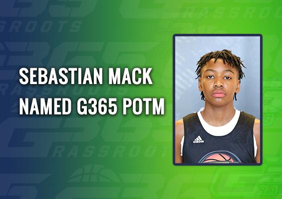 Sebastian Mack named G365 POTM