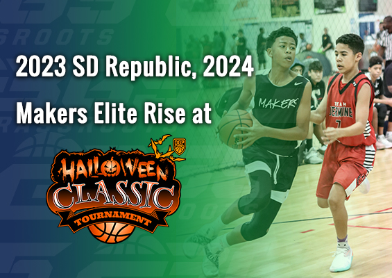 2023 SD Republic, 2024 Makers Elite Rise at OGP Halloween Classic