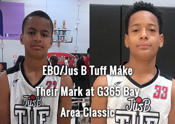 EBO/Jus B Tuf Make Their Mark at G365 Bay Area Classic