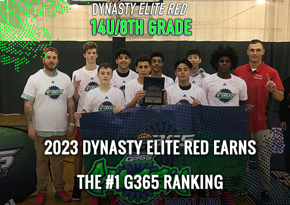 Breaking: 2023 Dynasty Elite Red Earns the #1 G365 Ranking
