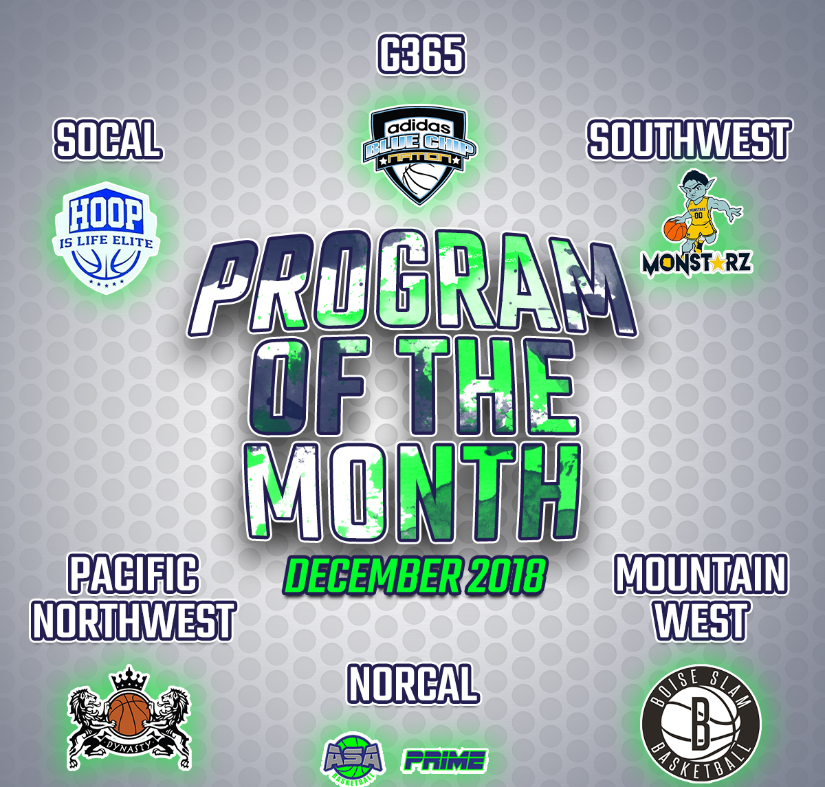 CLub Team of the month. December 11, 2018