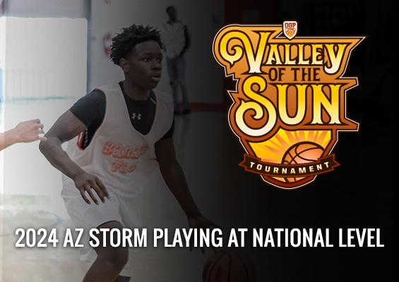 2024 AZ Storm Playing at National Level