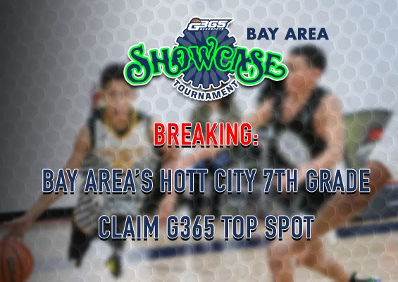 Breaking: Bay Area's Hott City 13u Claim G365  Top Spot