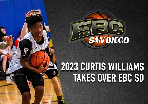 2023 Curtis Williams Takes Over EBC SD