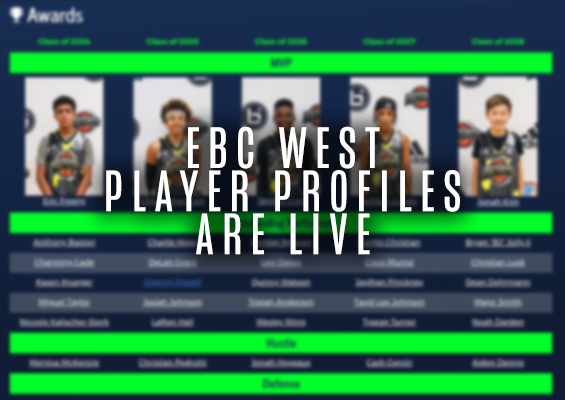 EBC West 2019 Profiles: LIVE
