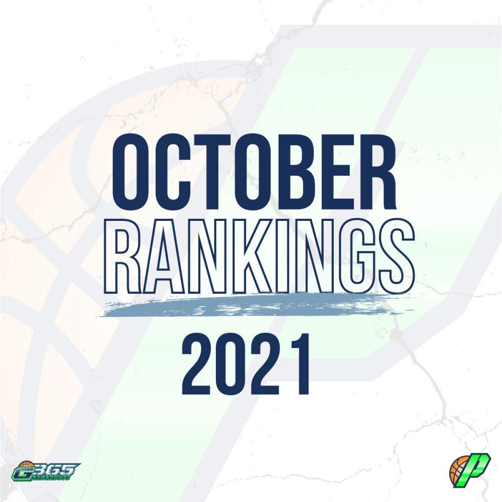 October Rankings