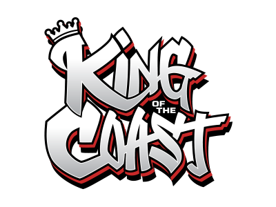 The King of the Coast Tournament 2018 official logo