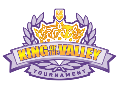 King of the Valley Tournament 2018: Session III official logo
