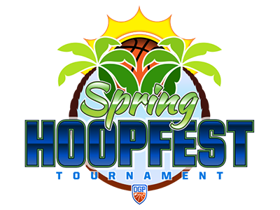 The Spring Hoopfest Tournament 2018 Logo