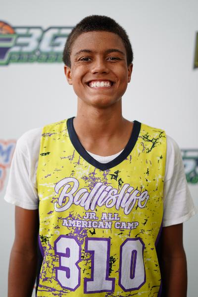 Isaiah Rogers at Ballislife EBC Jr. All-American Camp 2021