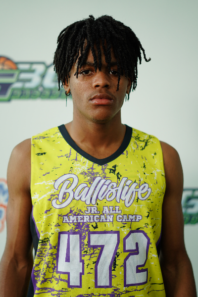 Solomon Bailey at EBC Jr. All-American