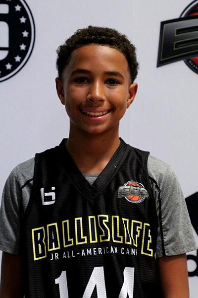 Brayden Harris at Ballislife Jr. All-American Camp 2019