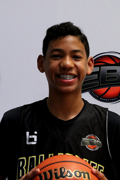 Robert Hinton at Ballislife Jr. All-American Camp 2019