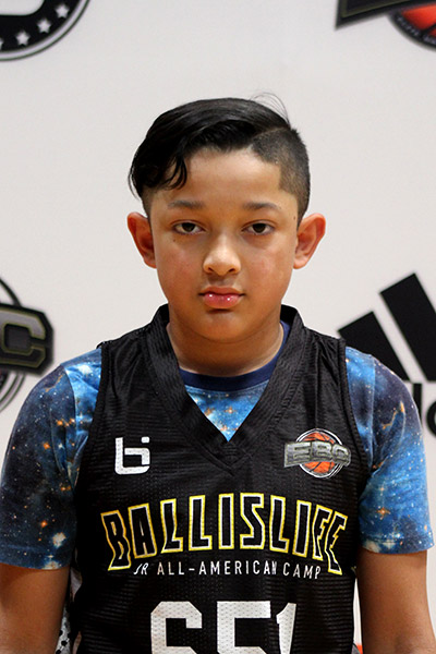 Cisco Munoz at Ballislife Jr. All-American Camp 2019