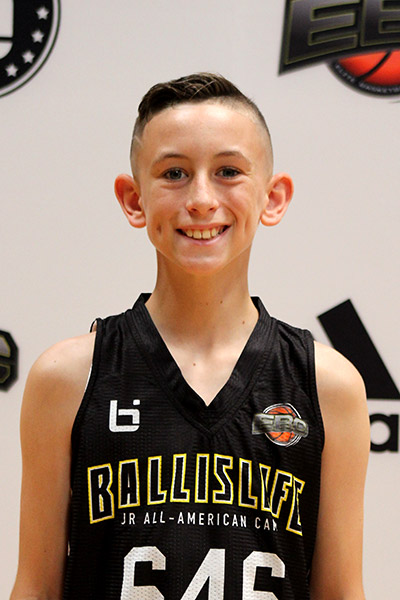 Jess Viscovich at Ballislife Jr. All-American Camp 2019