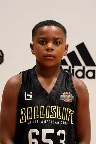Rashaan Shehee Jr at Ballislife Jr. All-American Camp 2019