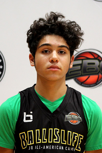 Gabriel Espinosa at Ballislife Jr. All-American Camp 2019