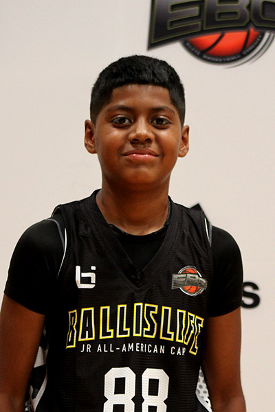 Ross Widemon at Ballislife Jr. All-American Camp 2019