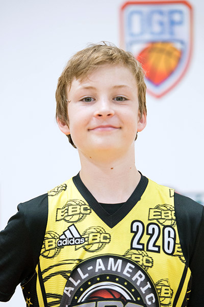Boden Howell at EBC Jr. All-American Camp 2017