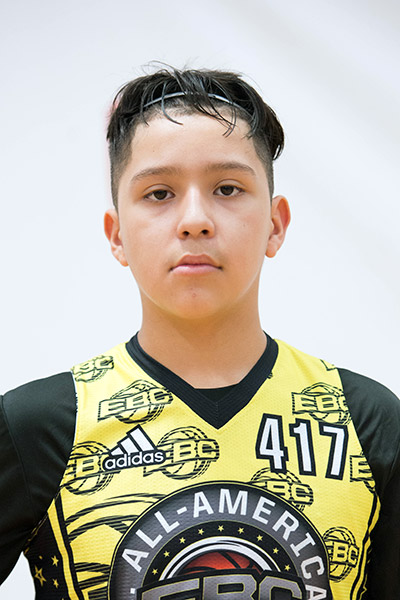 Andrew Camacho at EBC Jr. All-American Camp 2017