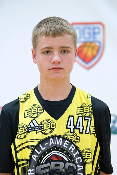 Tyler Jensen at EBC Jr. All-American Camp 2017