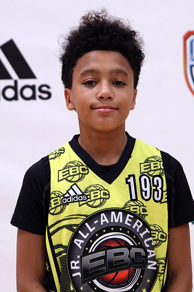 Noah Allen at EBC Jr. All-American Camp 2017
