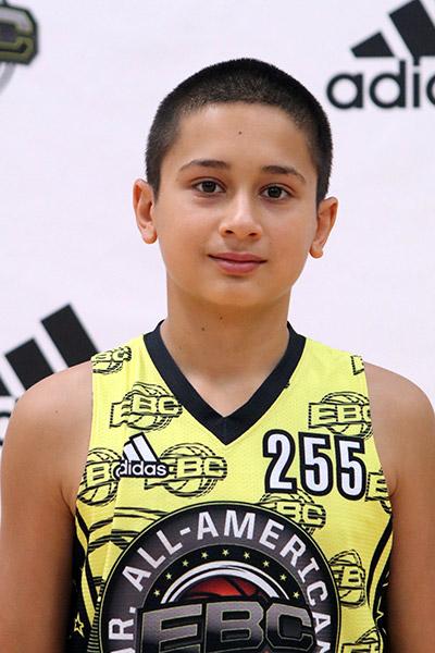 Yaqub Mir at EBC Jr. All-American Camp 2017