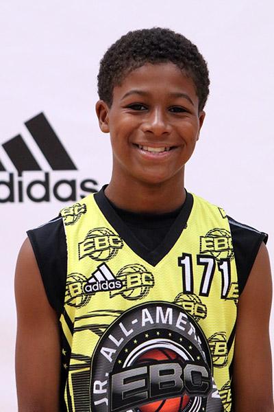 Clayton Jackson at EBC Jr. All-American Camp 2017