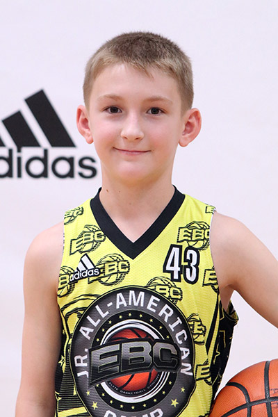 Aiden Hines at EBC Jr. All-American Camp 2017