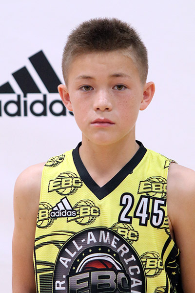 Jackson Okumura at EBC Jr. All-American Camp 2017