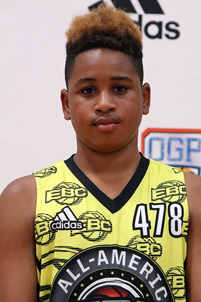 Cortevious Taylor at EBC Jr. All-American Camp 2017