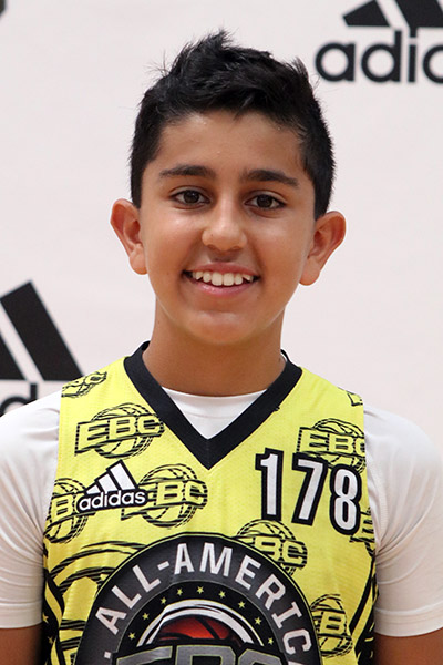 Pasha Goodarzi at EBC Jr. All-American Camp 2017