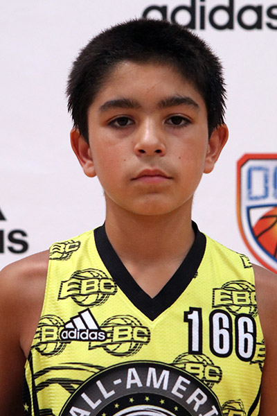 Zachary Chauhan at EBC Jr. All-American Camp 2017
