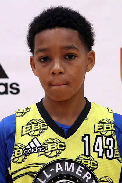 Isaiah Crane Jr. at EBC Jr. All-American Camp 2017