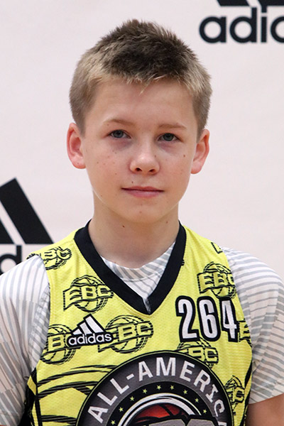 Tommy Hanly at EBC Jr. All-American Camp 2017
