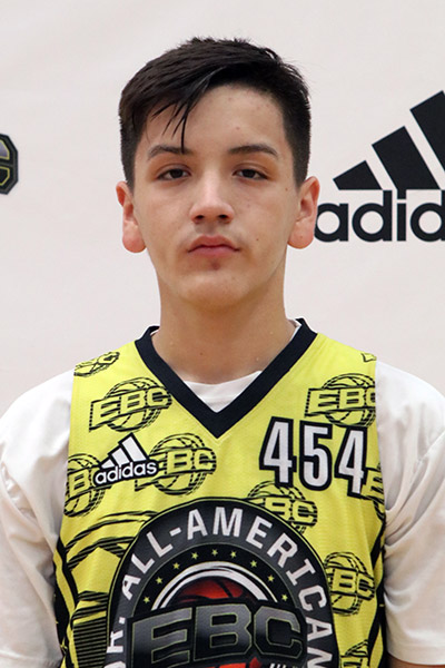 Alex Argandar at EBC Jr. All-American Camp 2017