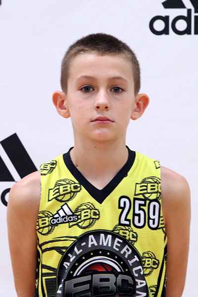 Hudson Greer at EBC Jr. All-American Camp 2017