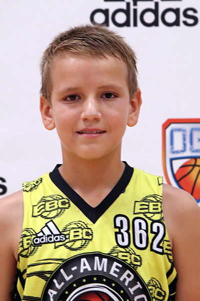 Titan Larsen at EBC Jr. All-American Camp 2017