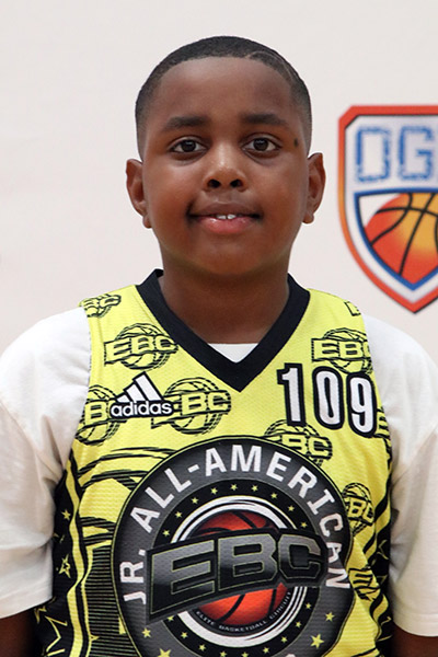 Tekeio Phillips at EBC Jr. All-American Camp 2017