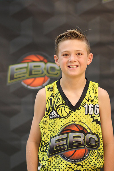Caden Jones at EBC Jr. All-American Camp 2018