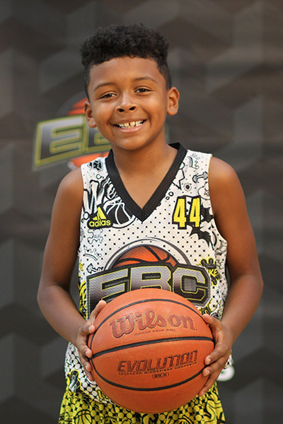 Davion Rhymes at EBC Jr. All-American Camp 2018