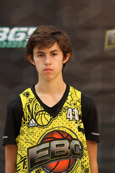 Tyler Lubash at EBC Jr. All-American Camp 2018