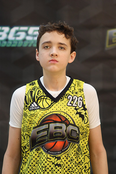Easton Reagan at EBC Jr. All-American Camp 2018