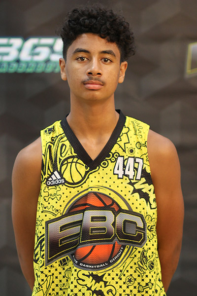 Deion Hines at EBC Jr. All-American Camp 2018