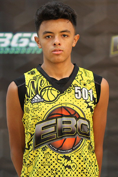 Devon Arlington at EBC Jr. All-American Camp 2018