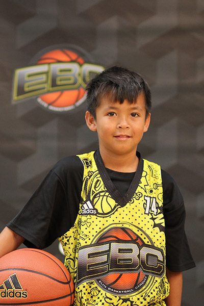 Xavier Kaleo De Mond at EBC Jr. All-American Camp 2018