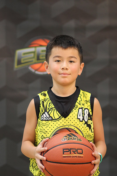 Evo Montoya-Chang at EBC Jr. All-American Camp 2018