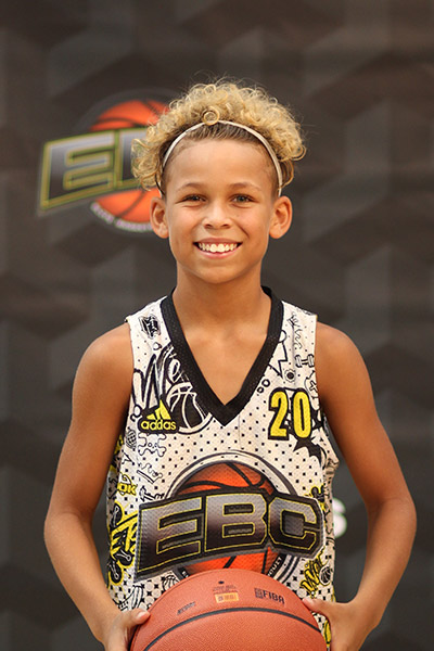 Isaiah (Z) Jones at EBC Jr. All-American Camp 2018