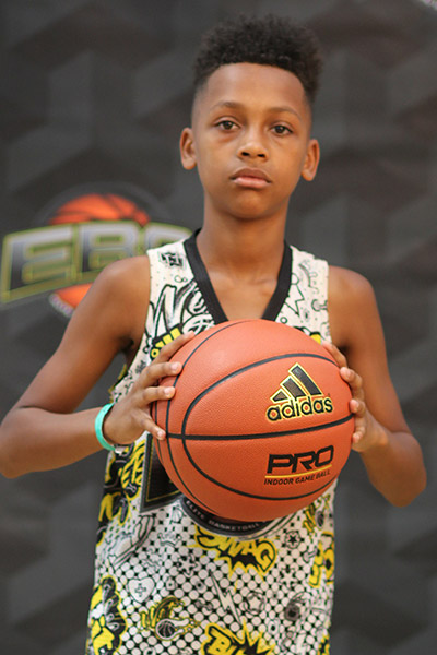Jamaire Grant at EBC Jr. All-American Camp 2018